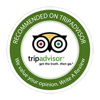 Recomended by tripadvisor