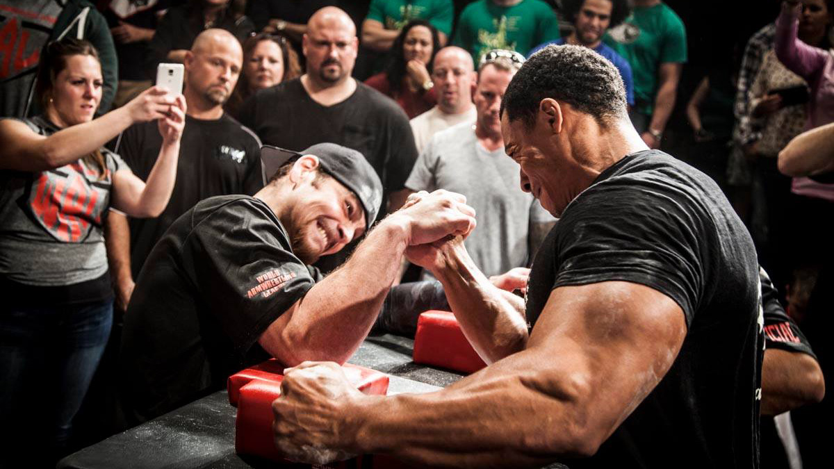 Arm Wrestling Champion